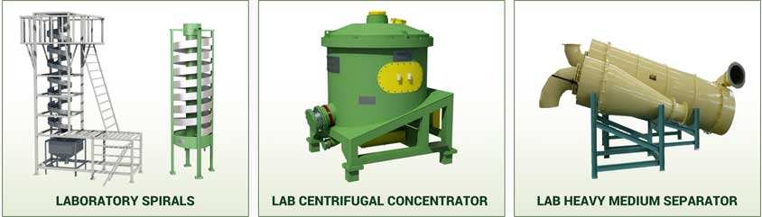 LABORATORY GRAVITY CONCENTRATION
