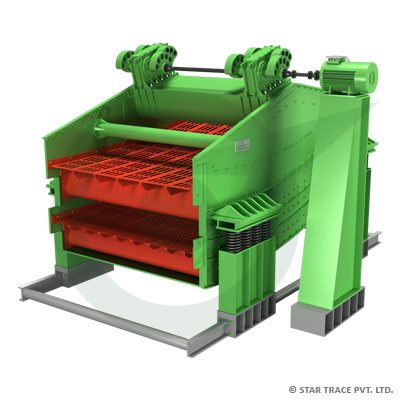 Banana Type Vibrating Screen