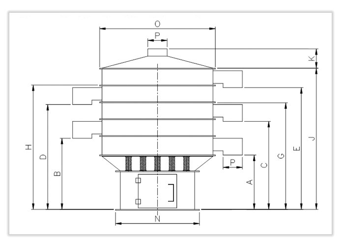 Vibro Separator Specification